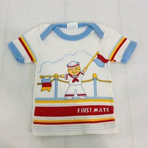 Vintage Hopscotch First Mate Sailor Tee